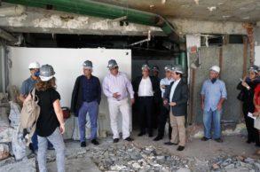 Visita Obras Edifício Mário Bhering