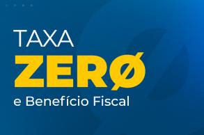 Taxa ZERO e benefício fiscal para aporte extra até 20/12